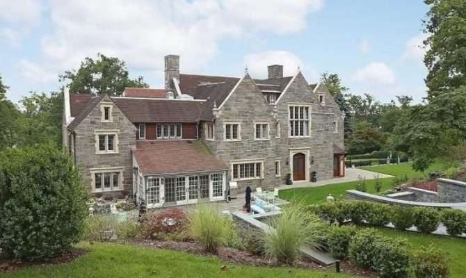 Montclair Wow House English Stone Manor Has Its Own