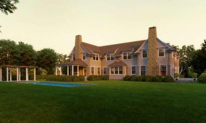 Moose Pond Shingle Style Home Plans David Neff Architect