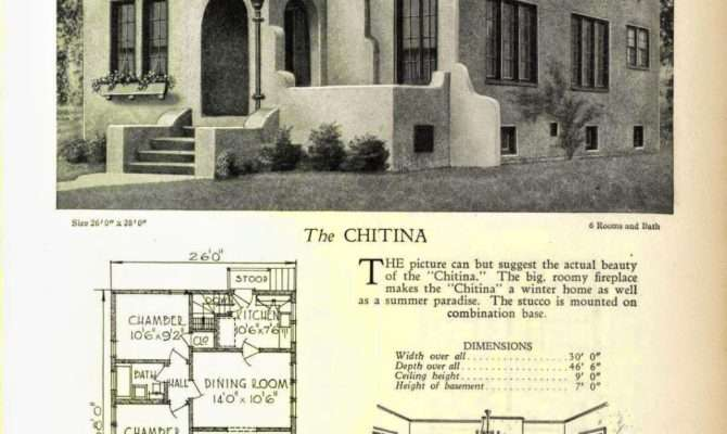 More Art Deco House Plans Resource