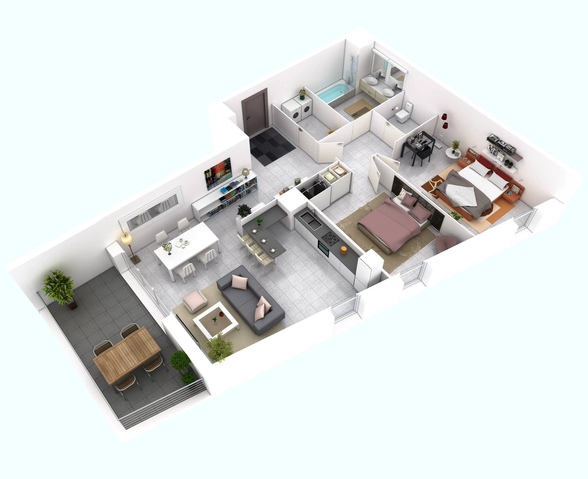 More Bedroom Floor Plans