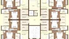 More Townhouse Duplex House Construction Floor Plans Blueprint