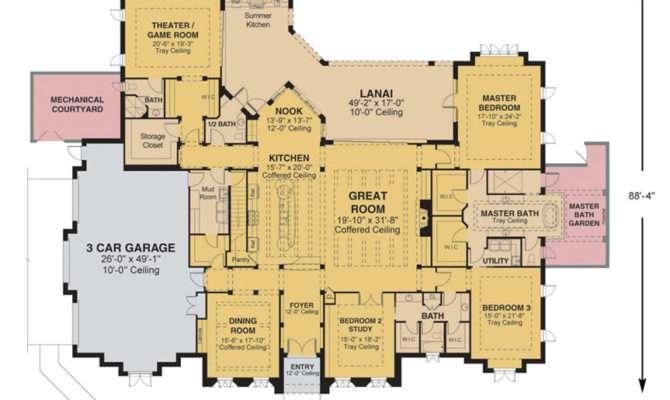 Morgan Custom Home Floor Plan Ocala