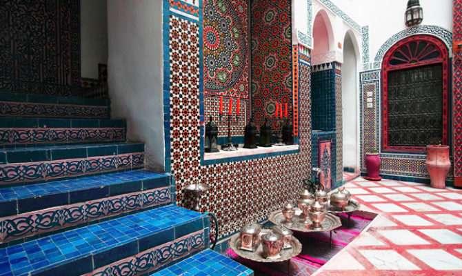 Moroccan Interior Design Style Grey Home