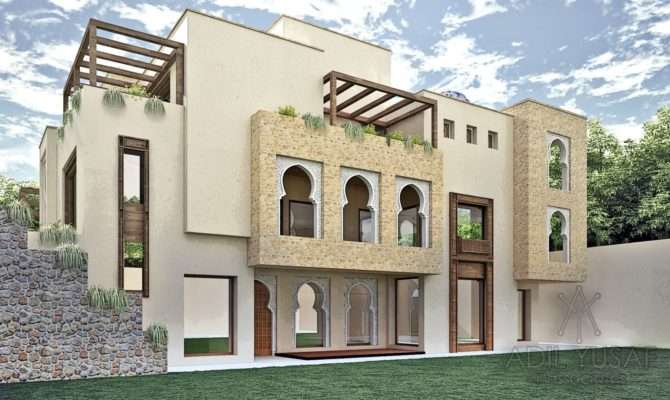 Moroccan Style Residence Adil Yusaf Associates