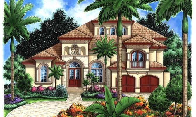Morocco House Plan Weber Design Group Naples