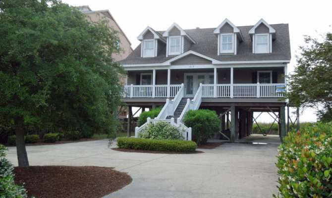 Most Houses Near Ocean Stilts