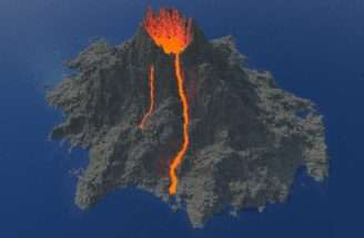 Most Realistic Minecraft Volcano Ever Project