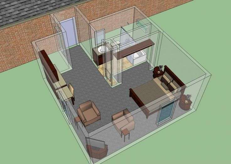 Mother Law Suite Addition House Plans Floor Home