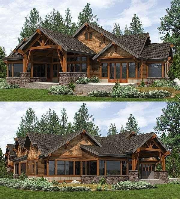 Mountain Craftsman House Plans Imgkid