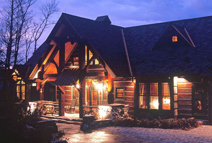 Mountain Home Architects Timber Frame
