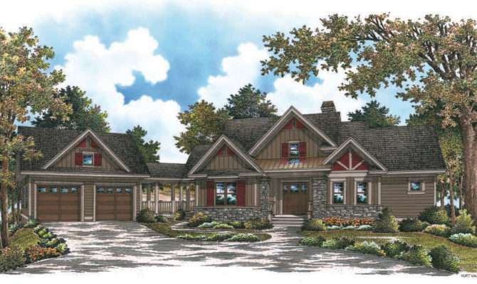 Mountain House Plans Detached Garage Home Deco