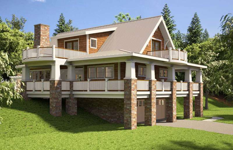 Mountain House Plans Professional Builder