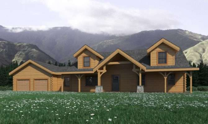 Mountain House Plans Rustic