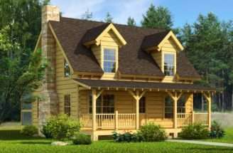 Mountain Laurel Log Home Cabin Plans Maybe Include Wrap Around