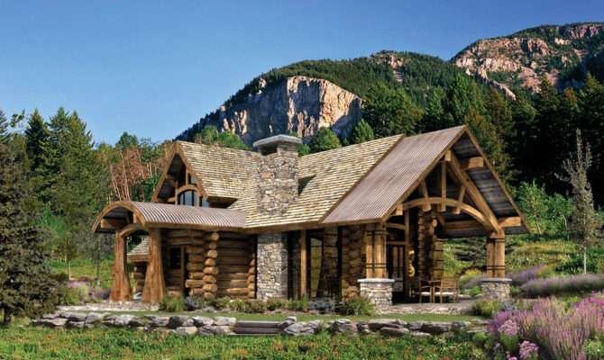 Mountain Log Cabin Floor Plans Unique House