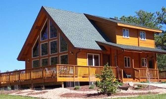 Mountain Log Home Plan