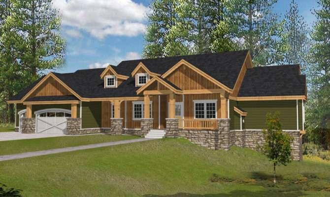 Muirfield Castle Rustic Home Plan House Plans More