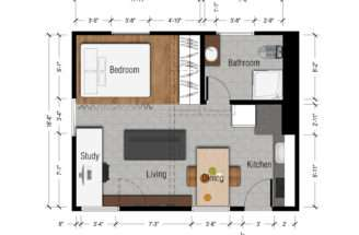 Mulberry Studio Apartment Los Angeles Arcbazar