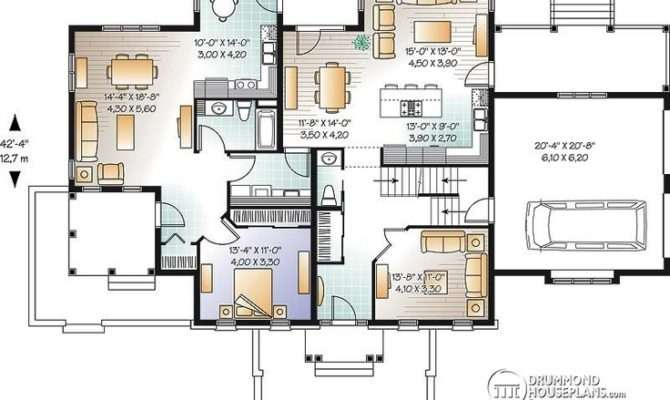 Multi Generational House Plan Dream Home Chp