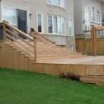 Multi Level Cedar Deck Design Build Toronto