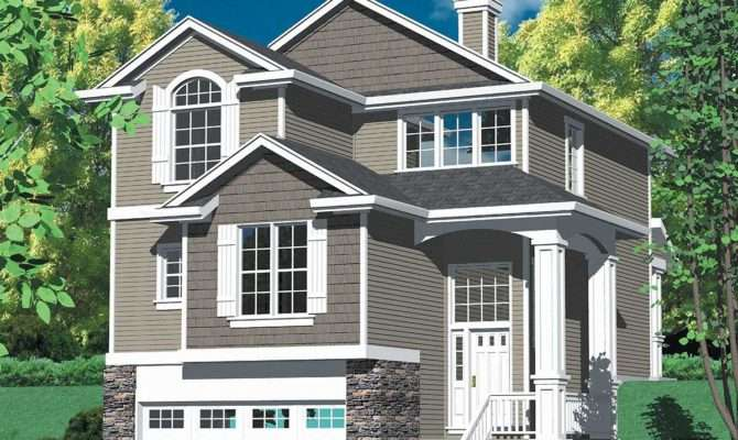 Multi Level Craftsman Plan Architectural
