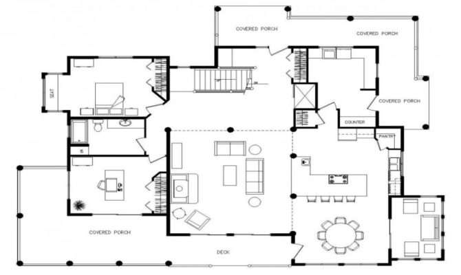 Multi Level House Plans Floor