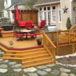 Multilevel Deck Comfortable Seating Areas Multiplatform