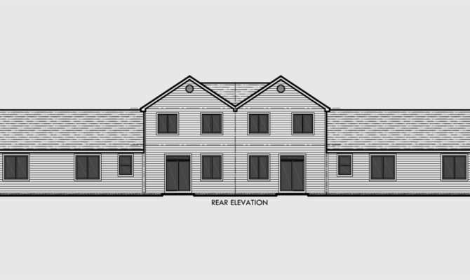 Multiplex House Plans Multi Level