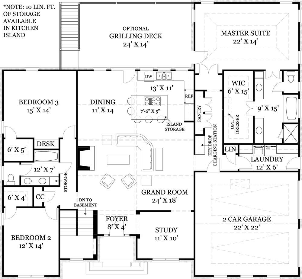 Mystic Lane Bedrooms Baths House