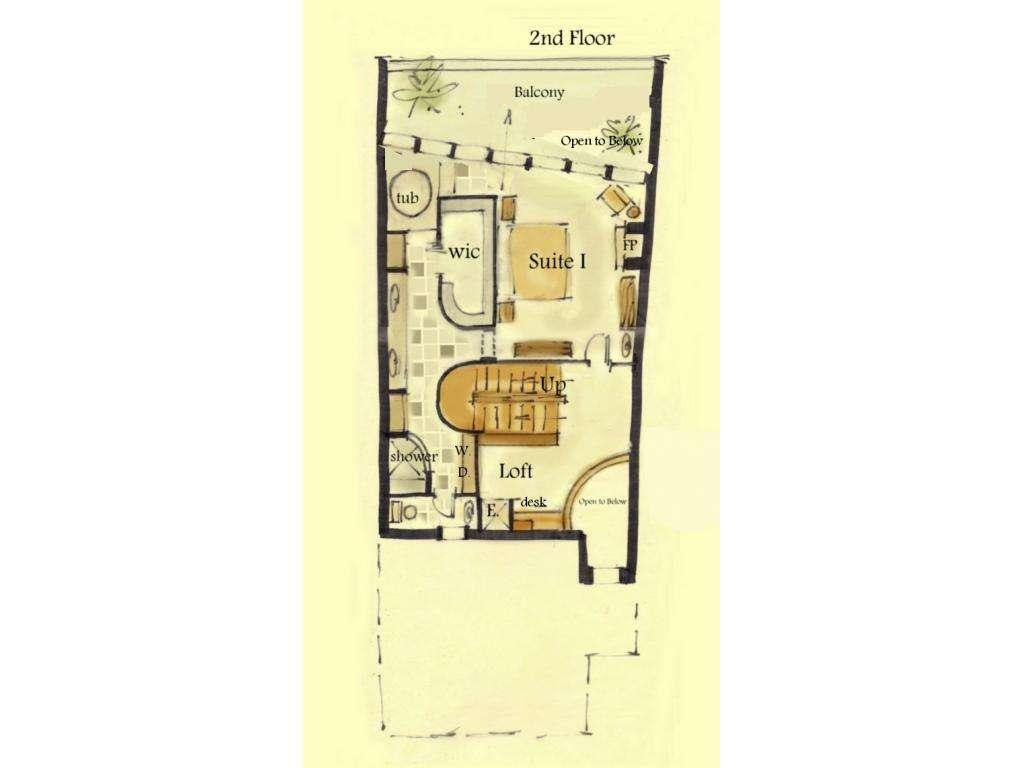 Narrow Bathroom Floor Plans Second Sun