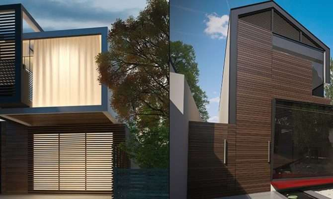 Narrow Block House Designs Home Builders Plans Melbourne
