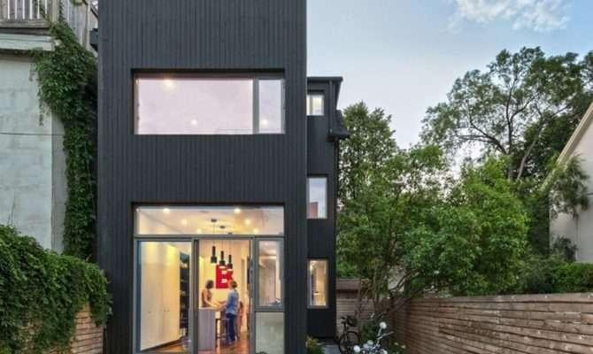 Narrow Dwelling Toronto Converted Into Bright