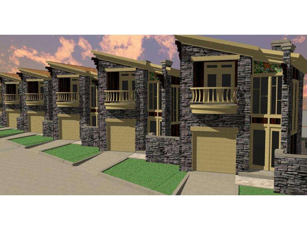 Narrow House Plan Allisciare Lot