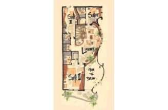 Narrow House Plan Jardim Plans