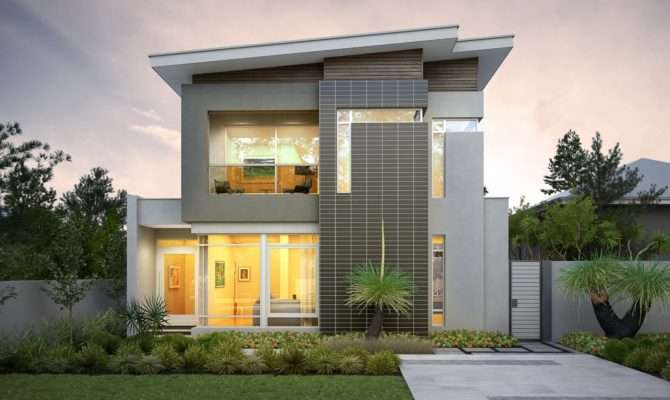 Narrow Lot Designs Home Our