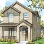 Narrow Lot Home Plans Story House Plan
