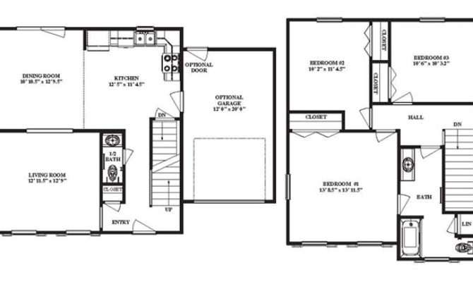 Narrow Lot Homes Floor Plans Perth