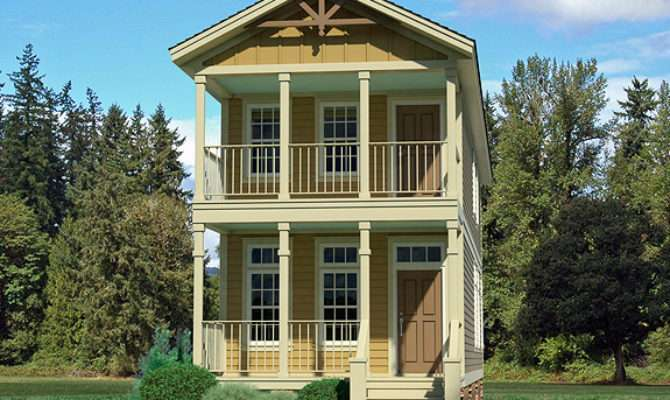 Narrow Lot Homes Very House Plans