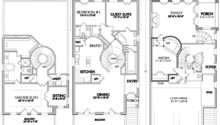 Narrow Lot House Designs Floor Plans