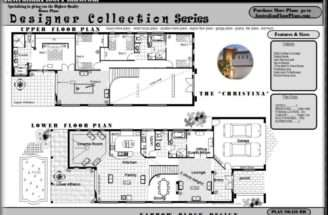 Narrow Lot House Plans Bedrooms Plus Extra Guest Room Dual