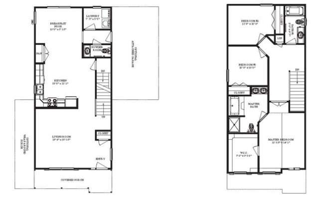 Narrow Lot House Plans Home Floor