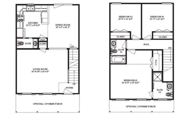 Narrow Lot House Plans Point