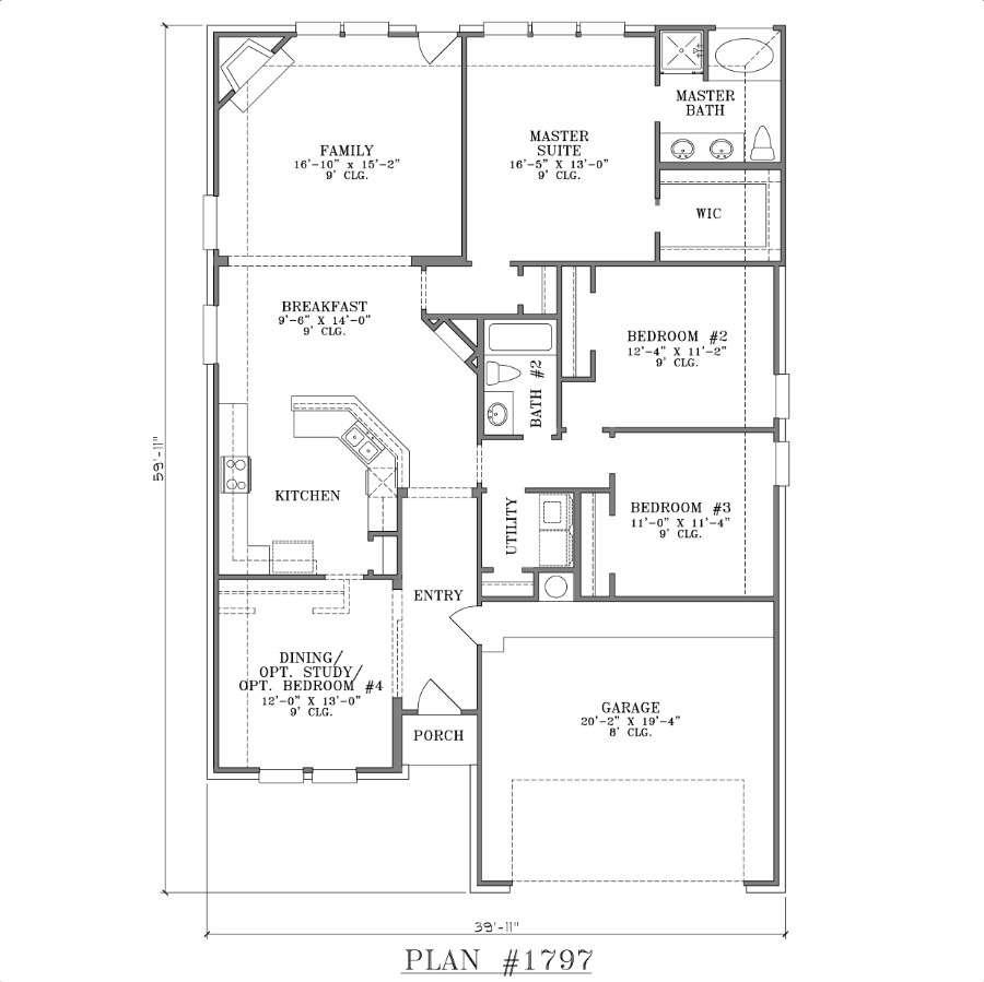 Narrow Lot House Plans Texas Southern