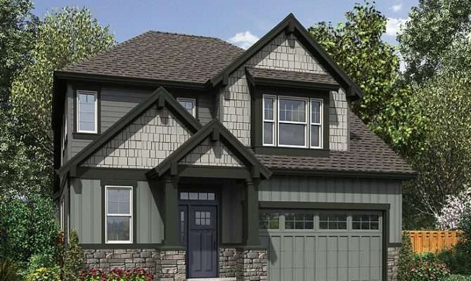 Narrow Lot House Plans Two Story Home Plan Design