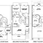 Narrow Lot Townhouse Floor Plans Moreover House