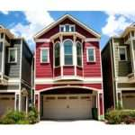 Narrow Lot Townhouse Hwbdo Traditional Builderhouseplans