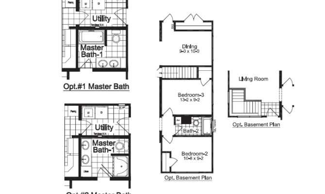 Narrow Needed Floor Plans Could Meet Those Demands Homes