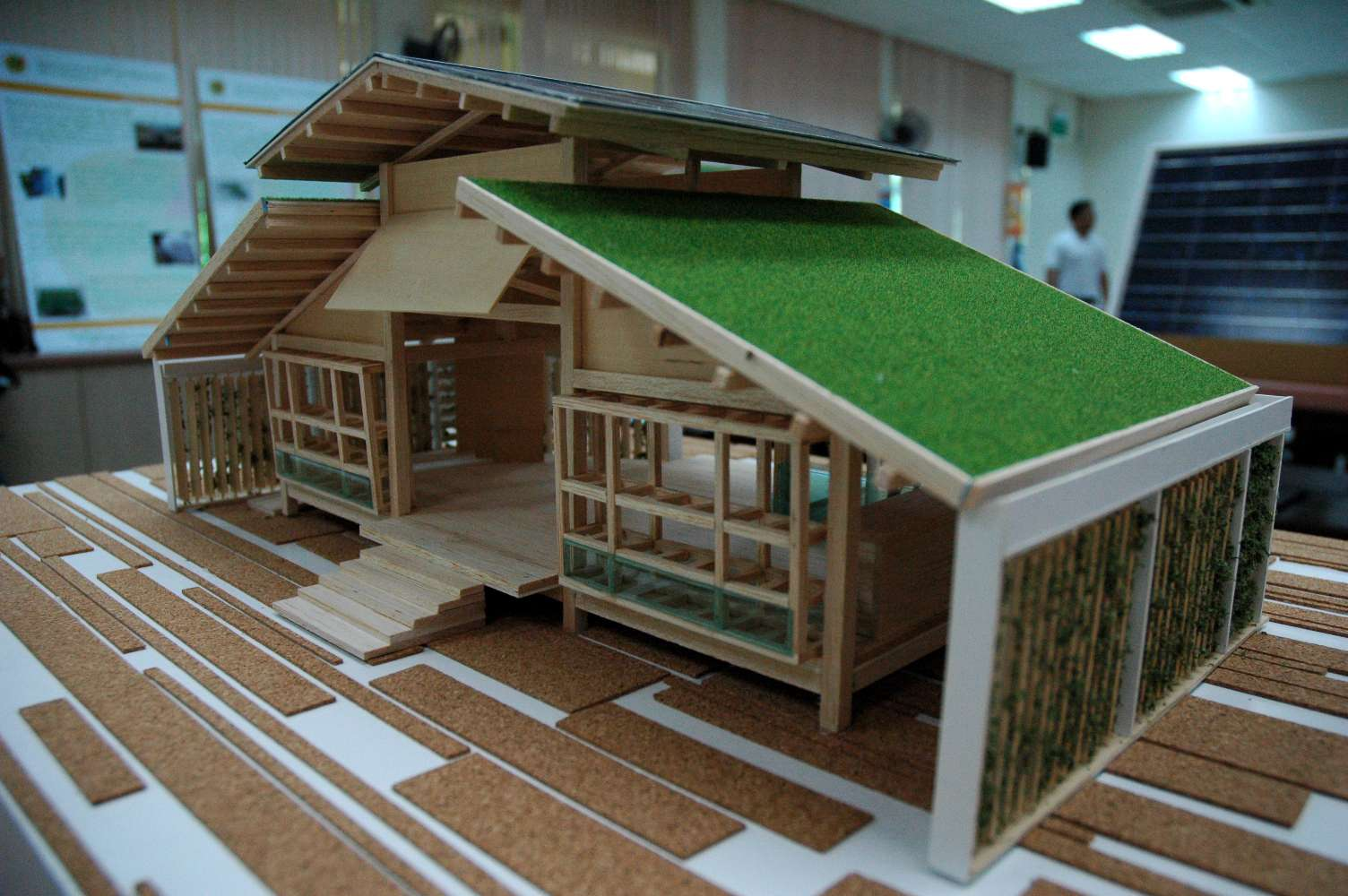 Nature Friendly Bamboo House Design Allstateloghomes