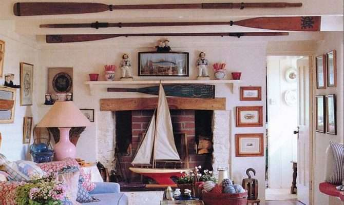 Nautical Home Interiors Decorating Oars Sally Lee Sea