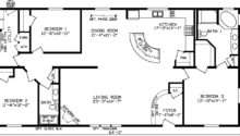 Nearly Square Feet Plan Has Large